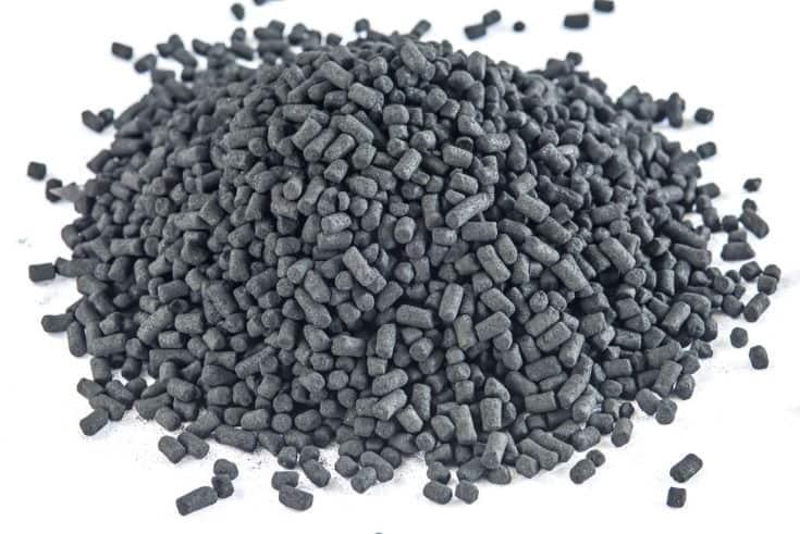 Carbón activo para filtros